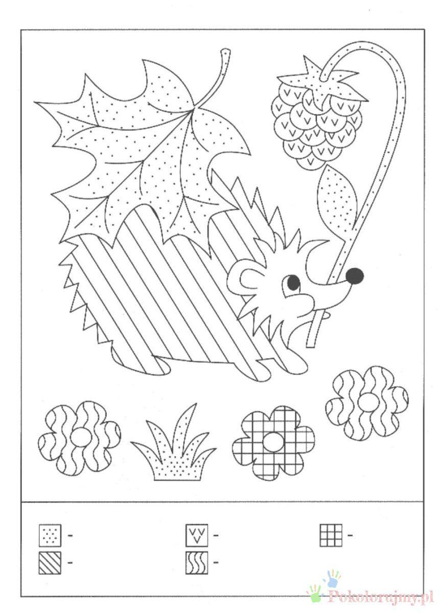 Lesne Zwierzeta Jesienia Kolorowanki Dla Dzieci Kolorowanki Do Wydrukowania