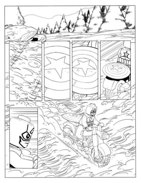 lego marvel avengers  kolorowanki dla dzieci